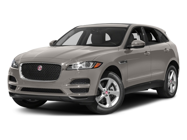 Ingot 2017 Jaguar F-PACE Pictures F-PACE 35t Premium AWD photos front view