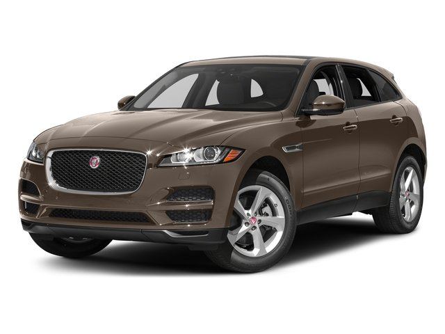 Quartzite Metallic 2017 Jaguar F-PACE Pictures F-PACE 35t Prestige AWD photos front view
