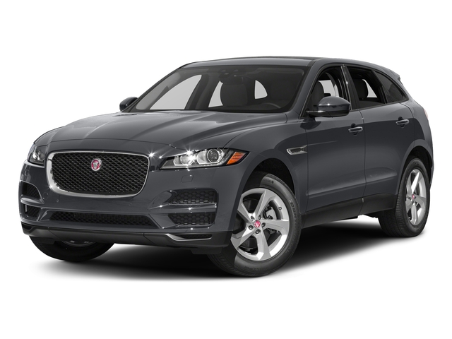 Tempest Grey 2017 Jaguar F-PACE Pictures F-PACE 35t Prestige AWD photos front view