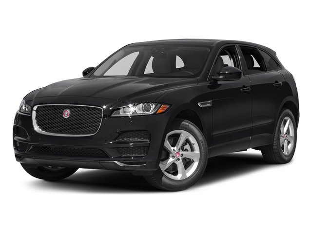 Ebony 2017 Jaguar F-PACE Pictures F-PACE 35t Prestige AWD photos front view