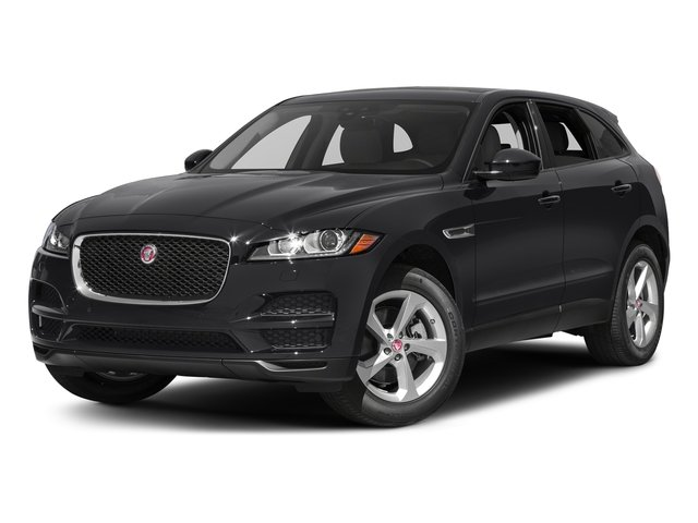 Storm Grey 2017 Jaguar F-PACE Pictures F-PACE 35t Prestige AWD photos front view