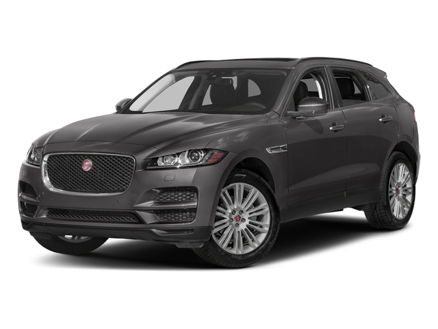 Ammonite Grey Metallic 2017 Jaguar F-PACE Pictures F-PACE 20d Prestige AWD photos front view