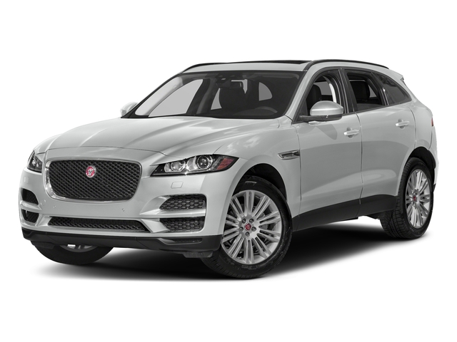 Rhodium Silver Metallic 2017 Jaguar F-PACE Pictures F-PACE 20d AWD photos front view