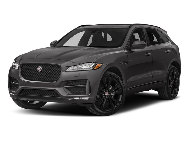 Ammonite Grey Metallic 2017 Jaguar F-PACE Pictures F-PACE 20d R-Sport AWD photos front view