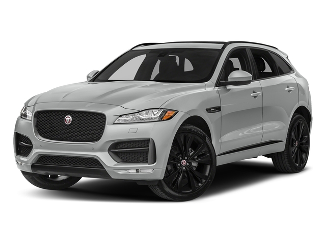 Rhodium Silver Metallic 2017 Jaguar F-PACE Pictures F-PACE 20d R-Sport AWD photos front view