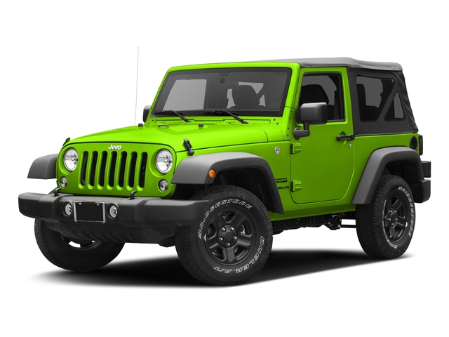 Hypergreen Clearcoat 2017 Jeep Wrangler Pictures Wrangler Sport 4x4 photos front view