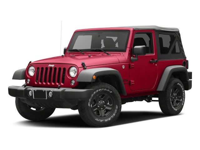 Firecracker Red Clearcoat 2017 Jeep Wrangler Pictures Wrangler Sport 4x4 photos front view
