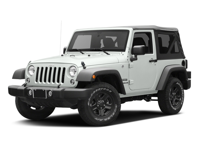 Bright White Clearcoat 2017 Jeep Wrangler Pictures Wrangler Freedom 4x4 *Ltd Avail* photos front view