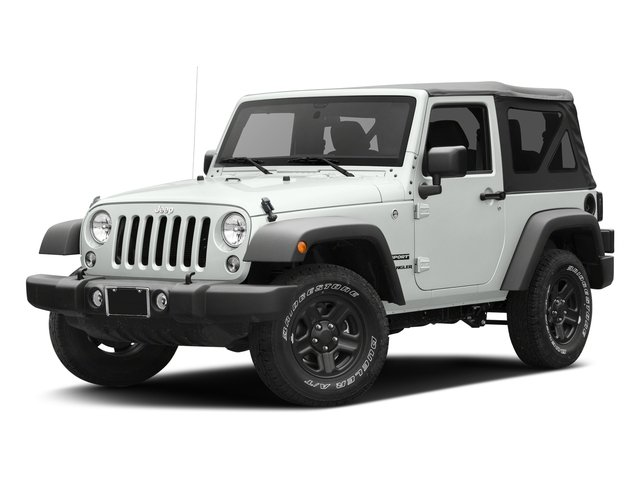 Bright White Clearcoat 2017 Jeep Wrangler Pictures Wrangler Sport 4x4 photos front view