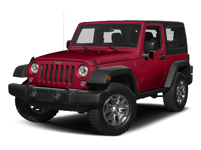 Firecracker Red Clearcoat 2017 Jeep Wrangler Pictures Wrangler Rubicon 4x4 photos front view