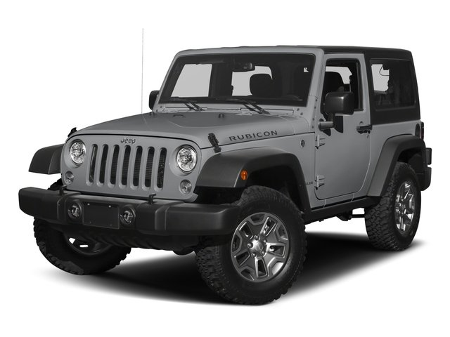 Billet Silver Metallic Clearcoat 2017 Jeep Wrangler Pictures Wrangler Rubicon 4x4 photos front view