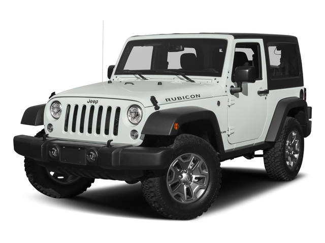 Bright White Clearcoat 2017 Jeep Wrangler Pictures Wrangler Rubicon 4x4 photos front view