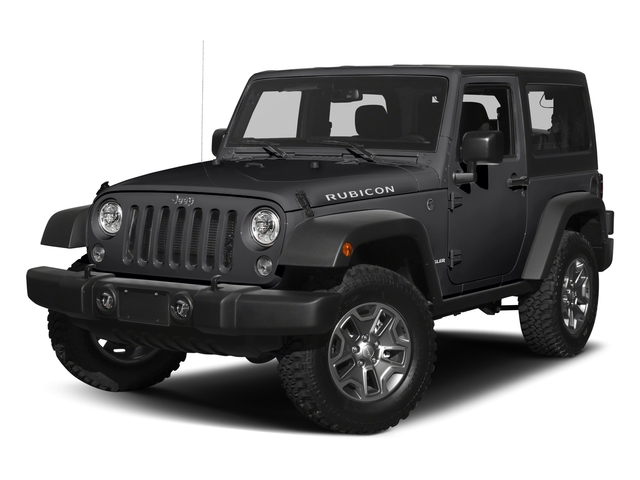 Black Clearcoat 2017 Jeep Wrangler Pictures Wrangler Rubicon 4x4 photos front view