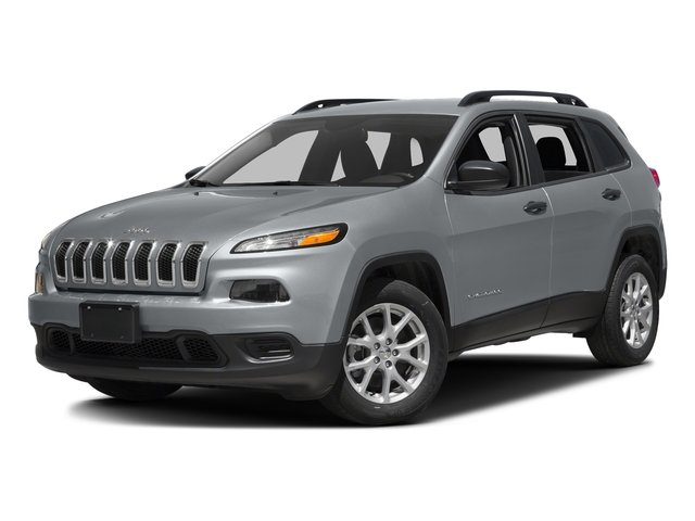 Billet Silver Metallic Clearcoat 2017 Jeep Cherokee Pictures Cherokee Utility 4D Sport 2WD photos front view