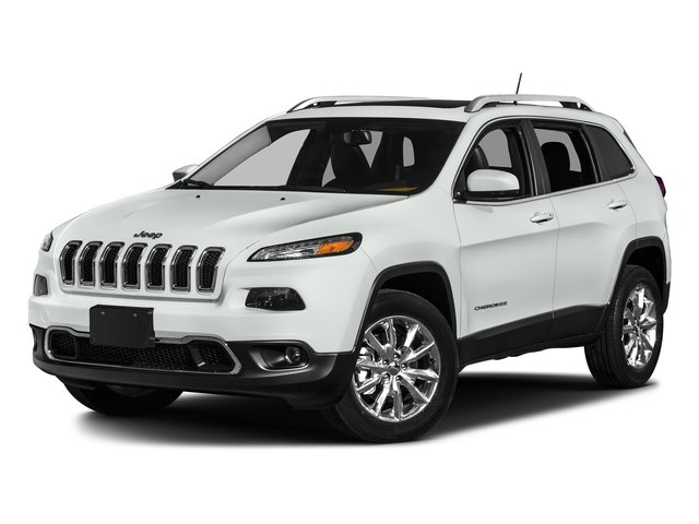 Bright White Clearcoat 2017 Jeep Cherokee Pictures Cherokee Altitude 4x4 *Ltd Avail* photos front view