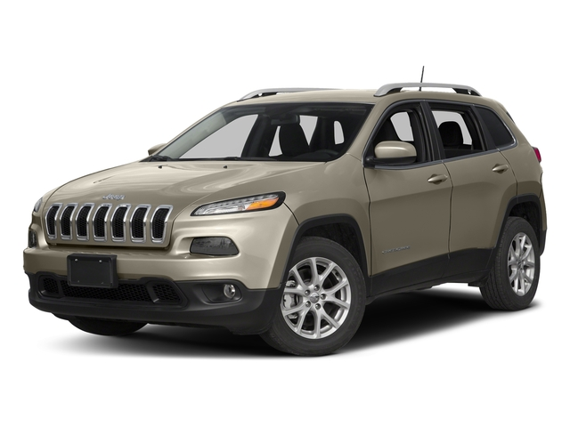 Light Brownstone Pearlcoat 2017 Jeep Cherokee Pictures Cherokee Utility 4D Latitude 4WD photos front view