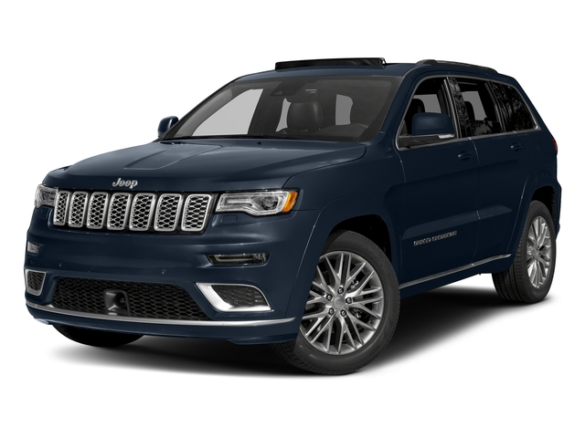 True Blue Pearlcoat 2017 Jeep Grand Cherokee Pictures Grand Cherokee Summit 4x2 photos front view