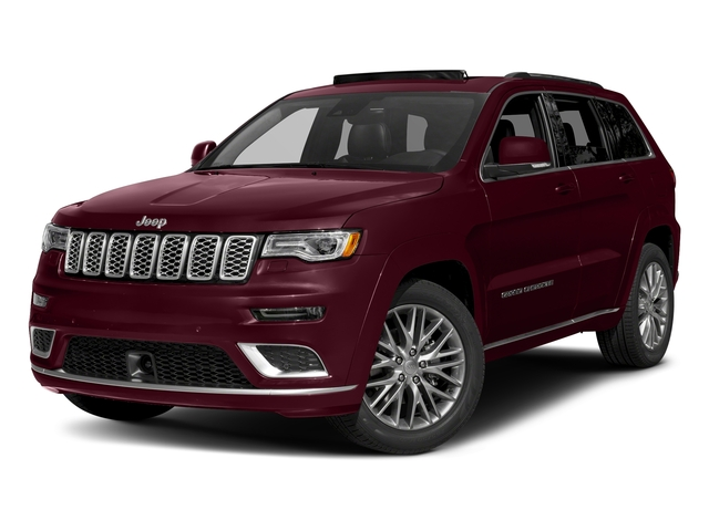 Velvet Red Pearlcoat 2017 Jeep Grand Cherokee Pictures Grand Cherokee Summit 4x2 photos front view