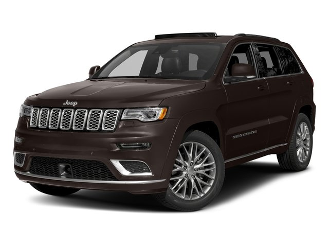 Luxury Brown Pearlcoat 2017 Jeep Grand Cherokee Pictures Grand Cherokee Utility 4D Summit 4WD T-Dsl photos front view