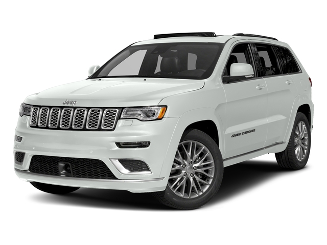 Bright White Clearcoat 2017 Jeep Grand Cherokee Pictures Grand Cherokee Summit 4x2 photos front view