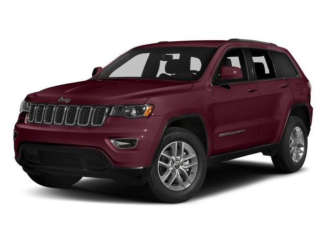 Velvet Red Pearlcoat 2017 Jeep Grand Cherokee Pictures Grand Cherokee Utility 4D Laredo 4WD photos front view