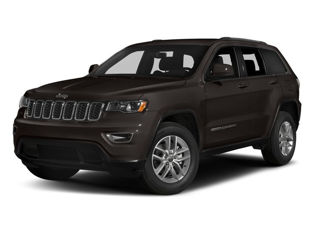 Walnut Brown Metallic Clearcoat 2017 Jeep Grand Cherokee Pictures Grand Cherokee Utility 4D Laredo 4WD photos front view