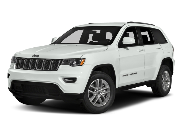 Bright White Clearcoat 2017 Jeep Grand Cherokee Pictures Grand Cherokee Utility 4D Laredo 4WD photos front view