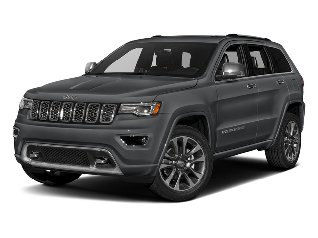 Granite Crystal Metallic Clearcoat 2017 Jeep Grand Cherokee Pictures Grand Cherokee Utility 4D Overland 4WD T-Dsl photos front view