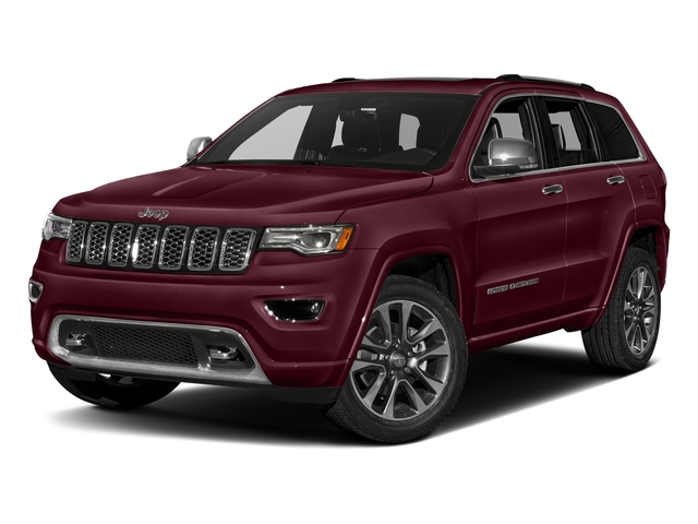 Velvet Red Pearlcoat 2017 Jeep Grand Cherokee Pictures Grand Cherokee Utility 4D Overland 2WD photos front view