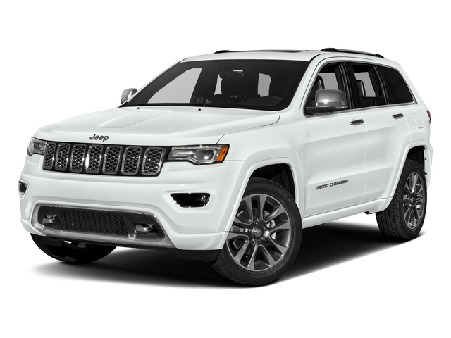 Bright White Clearcoat 2017 Jeep Grand Cherokee Pictures Grand Cherokee Utility 4D Overland 2WD photos front view