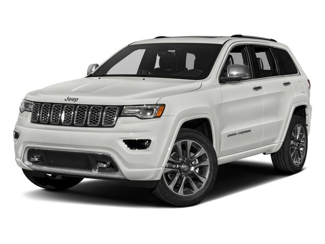 Ivory 3-Coat 2017 Jeep Grand Cherokee Pictures Grand Cherokee Utility 4D Overland 4WD T-Dsl photos front view