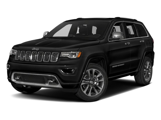 Diamond Black Crystal Pearlcoat 2017 Jeep Grand Cherokee Pictures Grand Cherokee Utility 4D Overland 4WD T-Dsl photos front view