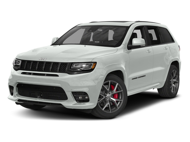Bright White Clearcoat 2017 Jeep Grand Cherokee Pictures Grand Cherokee SRT 4x4 photos front view