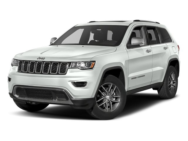 Bright White Clearcoat 2017 Jeep Grand Cherokee Pictures Grand Cherokee Utility 4D Limited 2WD T-Dsl photos front view
