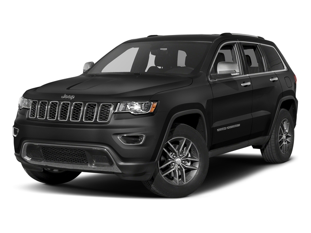 Diamond Black Crystal Pearlcoat 2017 Jeep Grand Cherokee Pictures Grand Cherokee Utility 4D Limited 4WD T-Dsl photos front view