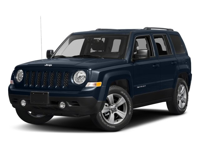 True Blue Pearlcoat 2017 Jeep Patriot Pictures Patriot Utility 4D Sport 4WD I4 photos front view