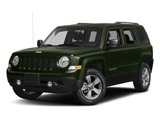 Recon Green Clearcoat 2017 Jeep Patriot Pictures Patriot Utility 4D Sport 2WD I4 photos front view
