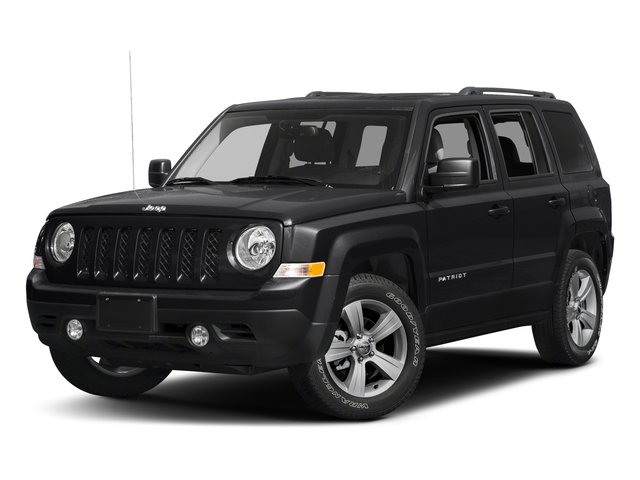 Black Clearcoat 2017 Jeep Patriot Pictures Patriot Utility 4D Sport 2WD I4 photos front view