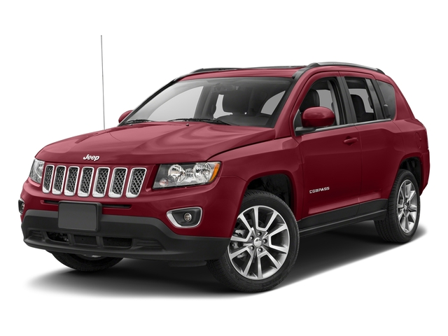 Deep Cherry Red Crystal Pearlcoat 2017 Jeep Compass Pictures Compass Latitude 4x4 *Ltd Avail* photos front view
