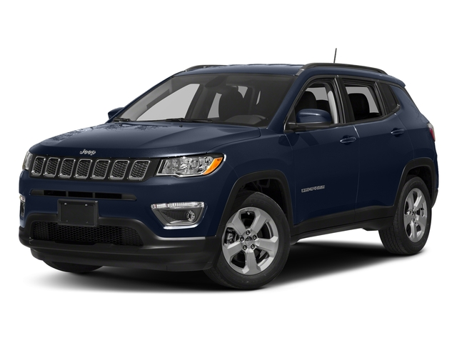 Jazz Blue Pearlcoat 2017 Jeep Compass Pictures Compass Latitude FWD photos front view