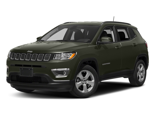 Olive Green Pearlcoat 2017 Jeep Compass Pictures Compass Latitude FWD photos front view