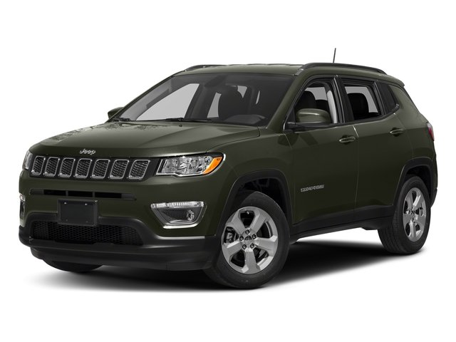 Olive Green Pearlcoat 2017 Jeep Compass Pictures Compass Sport 4x4 photos front view