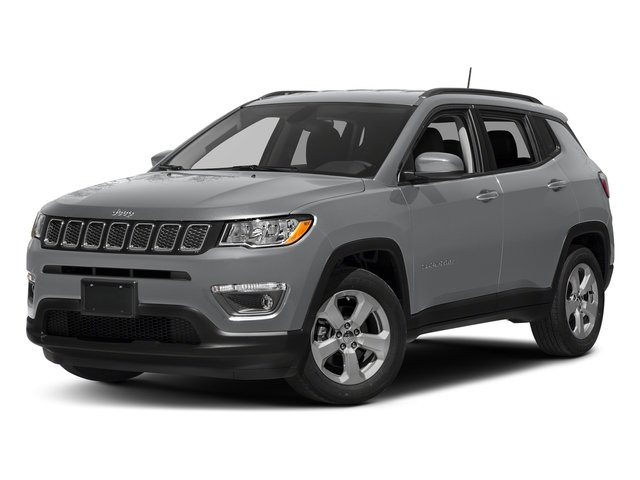 Billet Silver Metallic Clearcoat 2017 Jeep Compass Pictures Compass Sport 4x4 photos front view
