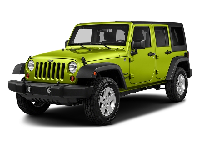 Hypergreen Clearcoat 2017 Jeep Wrangler Unlimited Pictures Wrangler Unlimited Utility 4D Unlimited Sport 4WD V6 photos front view