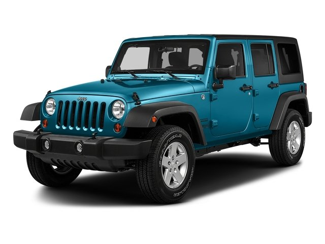 Chief Clearcoat 2017 Jeep Wrangler Unlimited Pictures Wrangler Unlimited Utility 4D Unlimited Sport 4WD V6 photos front view