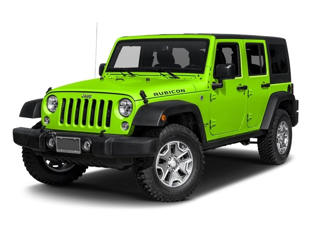 Hypergreen Clearcoat 2017 Jeep Wrangler Unlimited Pictures Wrangler Unlimited Rubicon 4x4 photos front view