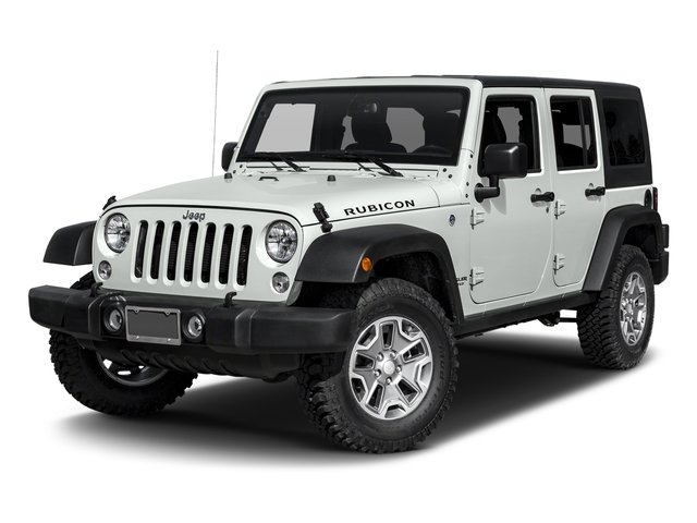 Bright White Clearcoat 2017 Jeep Wrangler Unlimited Pictures Wrangler Unlimited Rubicon Recon 4x4 photos front view