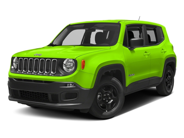 Hypergreen Clearcoat 2017 Jeep Renegade Pictures Renegade Sport 4x4 photos front view
