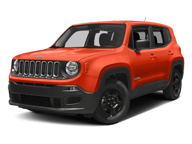 Omaha Orange 2017 Jeep Renegade Pictures Renegade Sport 4x4 photos front view