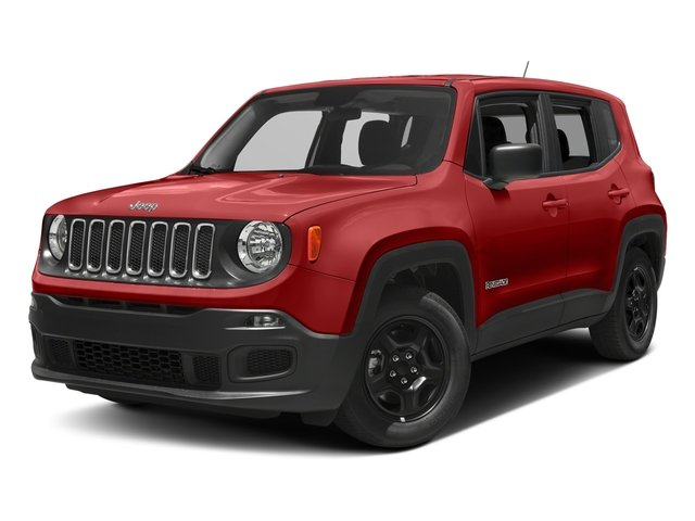 Colorado Red 2017 Jeep Renegade Pictures Renegade Sport 4x4 photos front view